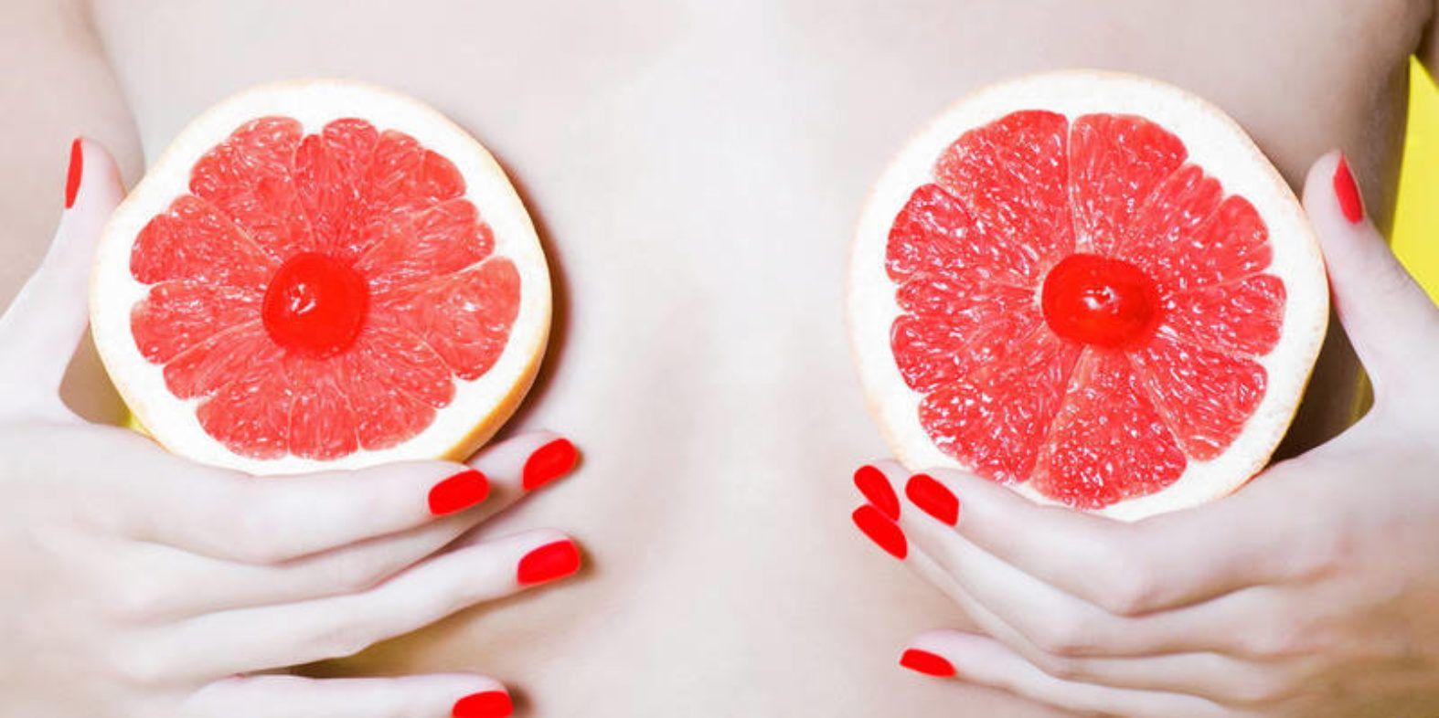 женская грудь грейпфрут