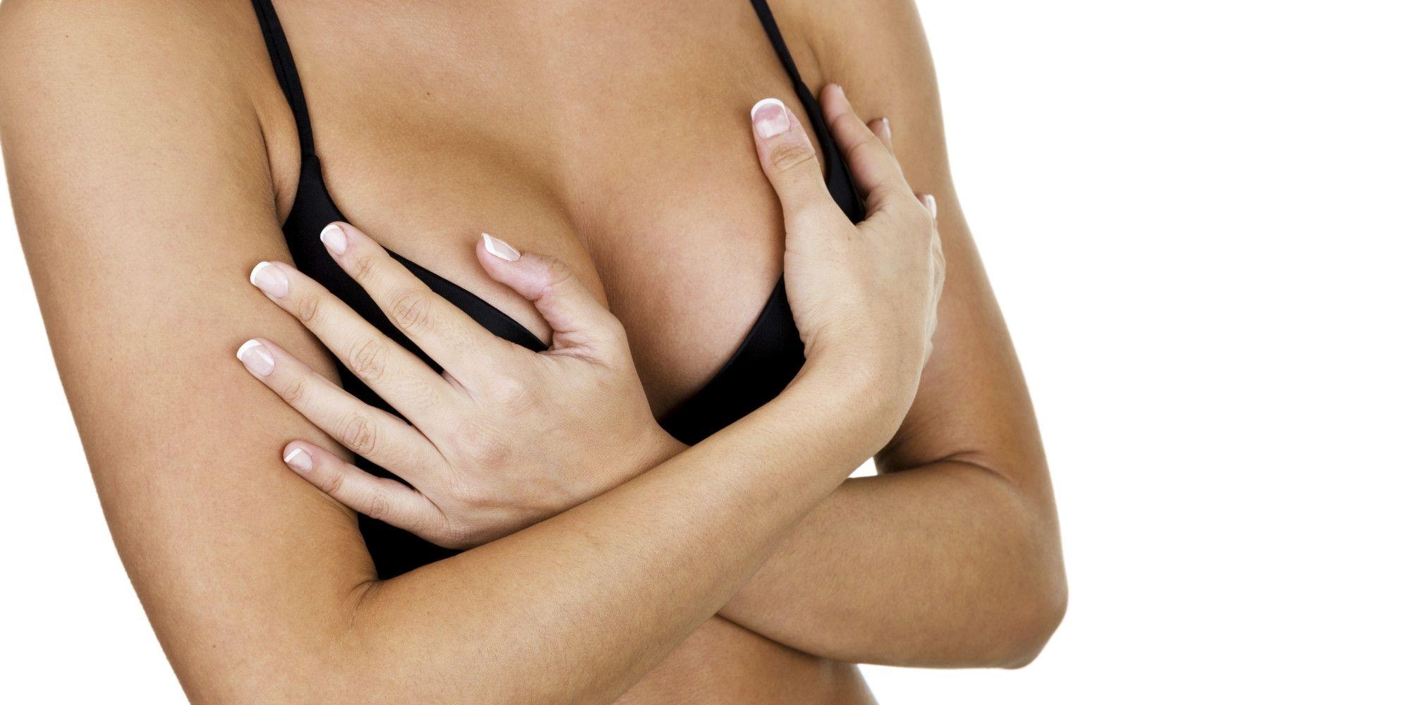 набухшая грудь