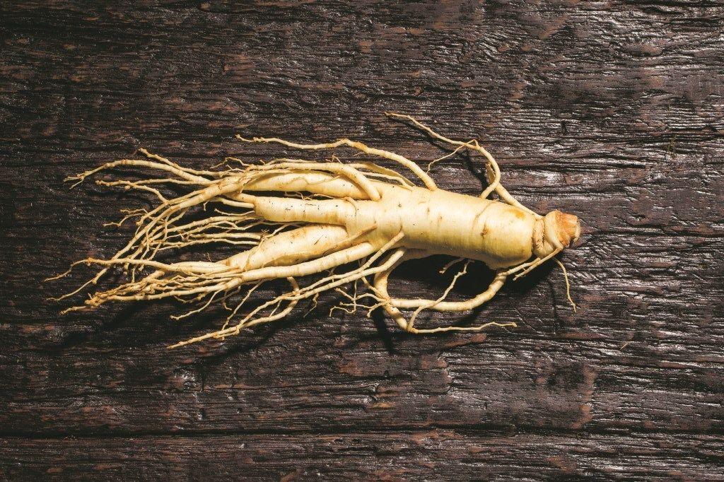 корень женьшеня для лечение гинекомастии