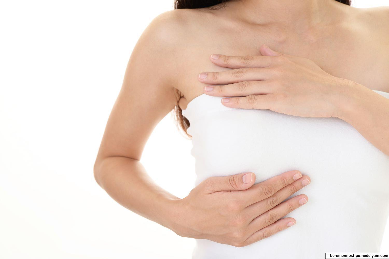 массаж груди при лактостазе