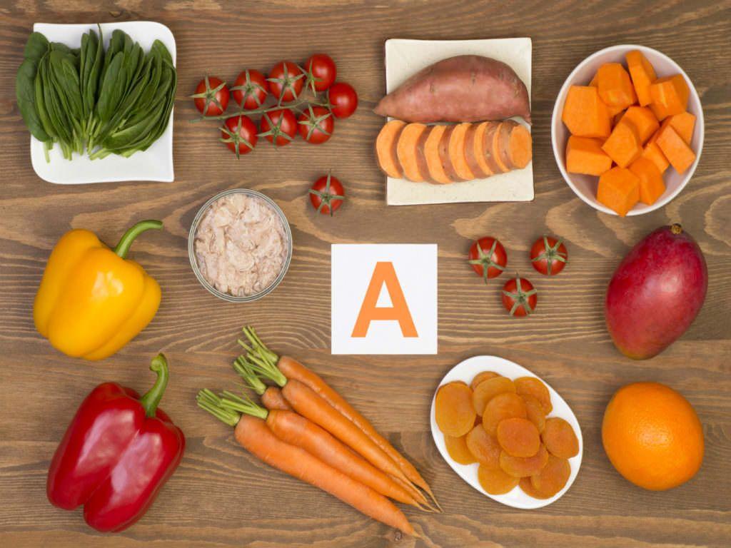 продукты в которых содержится витамин А
