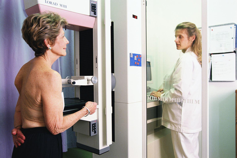 маммография пожилой женщине