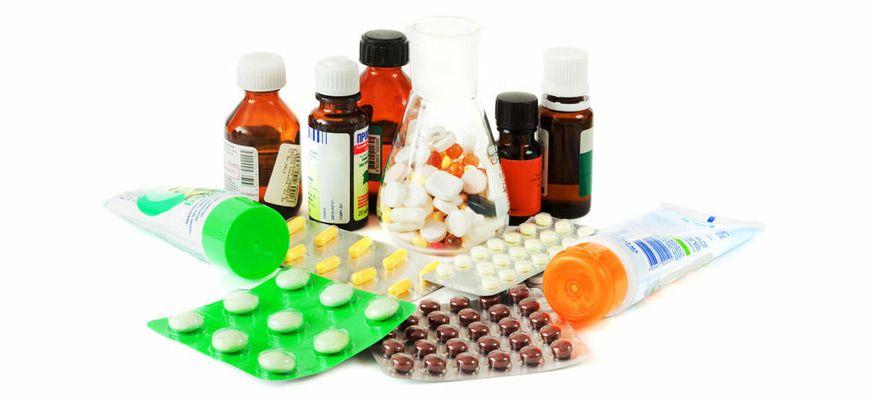 таблетки и мази