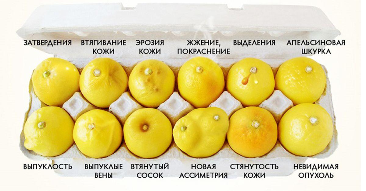 лимоны в таре для яиц