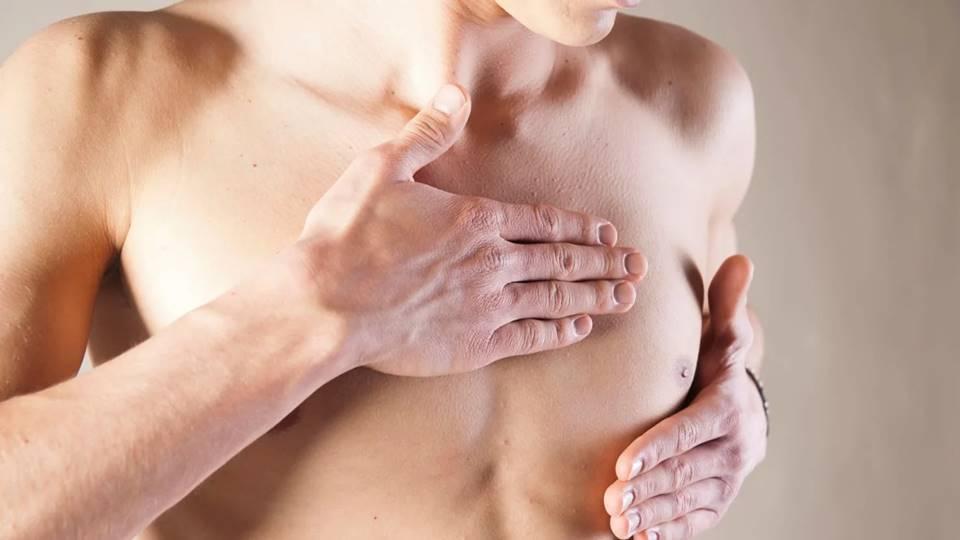мужской голый торс