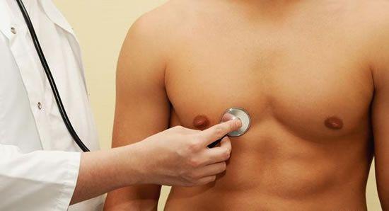 методы диагностики мужской груди