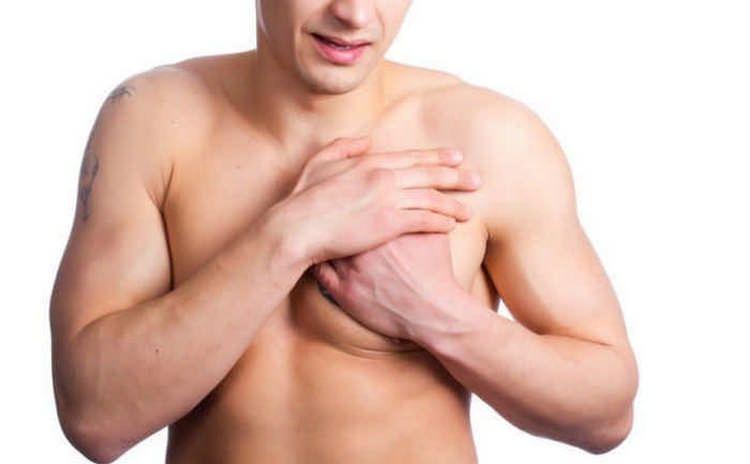 Болит правый сосок у мужчины