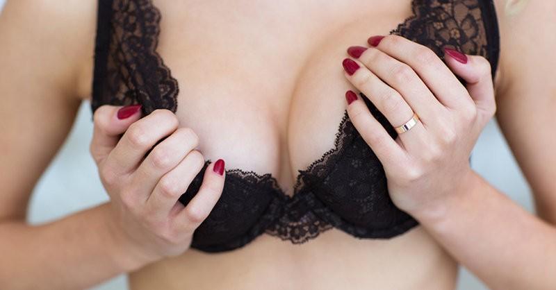 пятна на груди